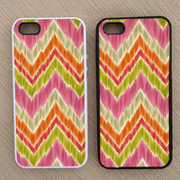Cute Summer Chevron iPhone Case, iPhone 5 Case, iPhone 4S Case, iPhone 4 Case - SKU: 200