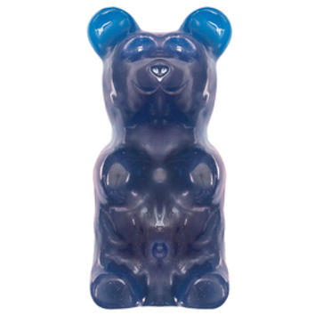 World's Largest Gummy Bear Candy Gift Box - Blue Raspberry