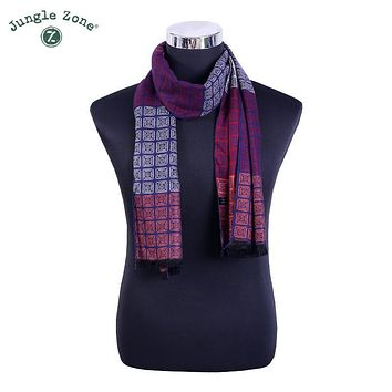 Winter Scarf British wind Cashmere Scarfs New Designer men wool bandana plaid Scarves High Quality Warm Scarves