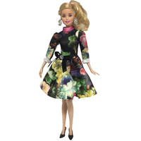 NK Newest One Set Doll Dress Fashion mini skirt soft cloth Noble and Generous Style For Barbie Doll Accessories Best Gift