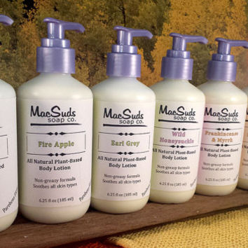 OATMEAL MILK & HONEY body lotion, natural lotion, vegan lotion, moisturizing body Lotion