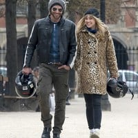 Giddy Bradley Cooper, 38, looks like a teen in love as he shares French kiss with model Suki Waterhouse, 20, in Paris