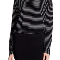 Vince | Long Sleeve Relaxed Stripe Tee | Nordstrom Rack