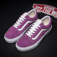 Flats Shoes Sneakers Sport Shoes VANS Classic Canvas Old Skool