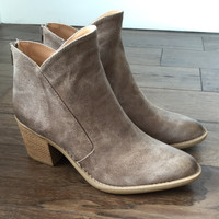 Gypsy Bootie in Taupe