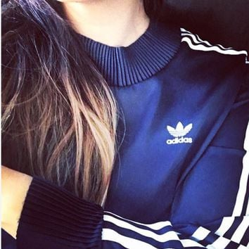 adidas Originals Adicolor Deluxe Sweatshirt With Pleated Trim