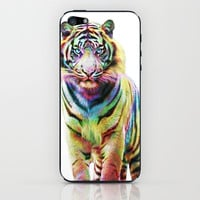 Tiger  iPhone & iPod Skin by Julien Kaltnecker