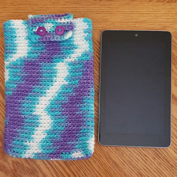 Crochet Cell Phone Cover, Tablet Cover