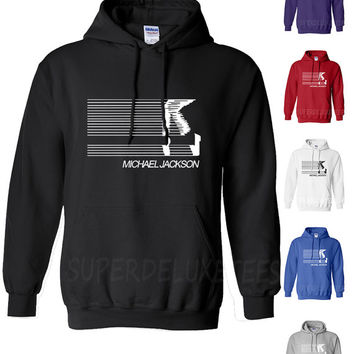 Michael Jackson Moonwalker Smooth Criminal Hooded Sweatshirt King of Pop Hoodie