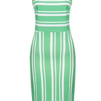 SISTER PIPPA SPEARMINT GREEN WIGGLE DRESS