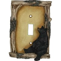 River's Edge Bear Electrical Switch Cover