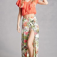 Aryn K Tropical Print Pants