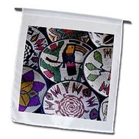 Danita Delimont - Crafts - Panama, Cristobal, Embera Indian handicrafts - SA15 CMI0334 - Cindy Miller Hopkins - 12 x 18 inch Garden Flag (fl_86903_1)