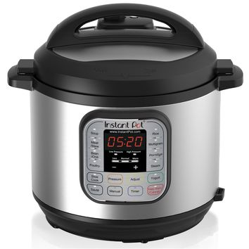 Instant Pot DUO60 6 Qt 7-in-1 Multi-Use Stainless Steel Pressure Cooker, Slow Cooker, Rice Cooker, Steamer, Sauté, Yogurt Maker and Warmer