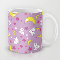 Sailor Moon Pattern Mug by Trigun29