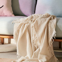 Maria Crinkle Throw Blanket | Urban Outfitters