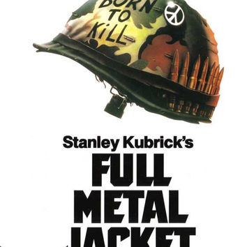 Full Metal Jacket 27x40 Movie Poster (1987)