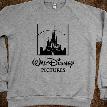 Walt Disney Pictures Crew Neck Sweatshirt