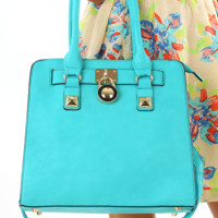 Make It You Purse: Turquoise