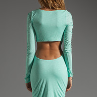 Pencey Standard Open Back Dress in Green from REVOLVEclothing.com