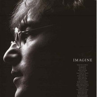 John Lennon Imagine Lyrics Poster 24x36