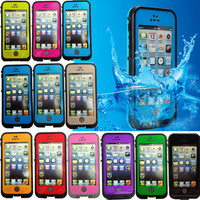 New Waterproof Shockproof Fingerprint ID Case for Apple Iphone 5 5C 5S 6 6S Plus