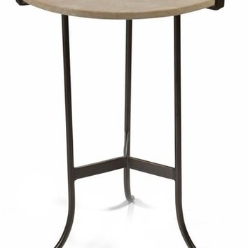 Zodax Mimouna Marble Top Indoor/Outdoor Side Table | Nordstrom