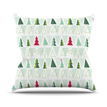"Allison Beilke ""Pining for Christmas"" Christmas Holiday Throw Pillow"