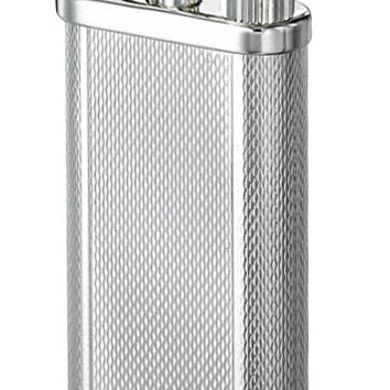 Dunhill Silver Unique Barley Patterned Pocket Lighter - Pipe Flame