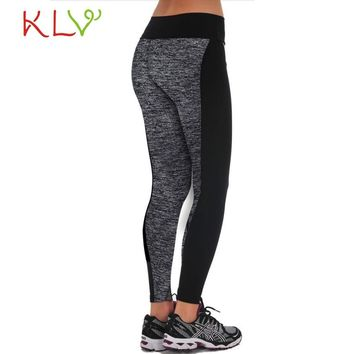 Hot Salesl 2017 1PC Fashion Women Suitable Trousers Pencil Pants Breathable Workout Fitness Leggings Pants Levert Dropship222
