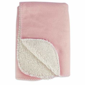 Harmony Cozy Sherpa Pet Throw in Pink | Petco
