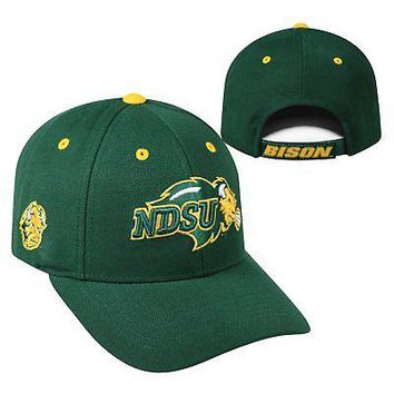 Licensed North Dakota State Bison NCAA Adjustable Triple Threat Hat Cap Top of the World KO_19_1