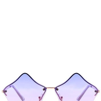 Nova Ombre Star Sunglasses by Skinny Dip London