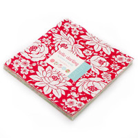 "Hello Darling Layer Cake by Bonnie and Camille for Moda Fabrics, 10"" squares"