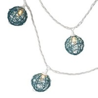 Room Essentials® Metal Wire Globe String Light