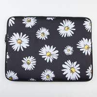 "Daisy Neoprene 15"" Laptop Sleeve Black/White One Size For Women 23194112501"