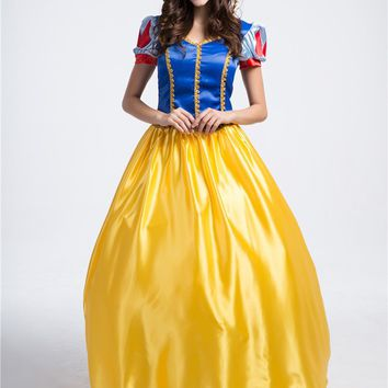 Chicloth Snow White Halloween Cosplay Costume
