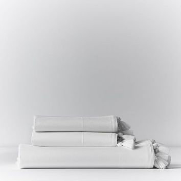 Kelly Slater Organic Tassel Sheet Set
