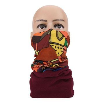 Multi Use Windproof Motorcycle Cycling Face Mask Neck Tube Scarf Headband Hat for Outdoor Sports Car String New