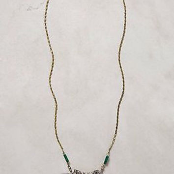 NWT Anthropologie Pleated Pearl Necklace