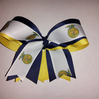 FFA  Logo Hair Bow