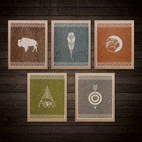 HAMMERPRESS | High Plains Art Print Set