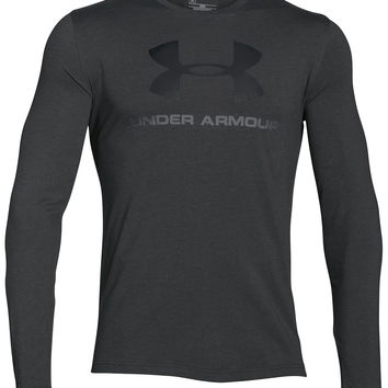 Under Armour Men's Long-Sleeve Logo T-Shirt | macys.com