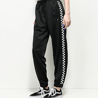 Vans Black & White Checker Track Pants | Zumiez