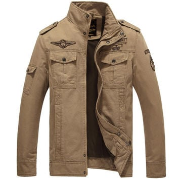 The Maverick Jacket Tan