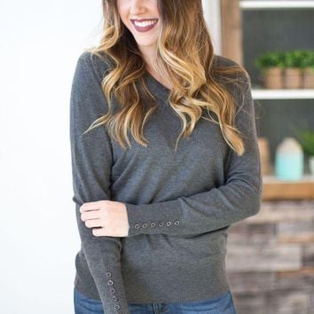 MDIG8 Buttoned Detailed Sweater - Multiple Options