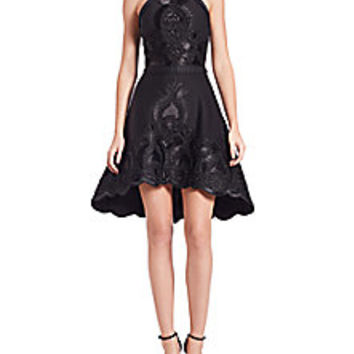 Alexis - Valeria Embroidered Hi-Lo Dress - Saks Fifth Avenue Mobile