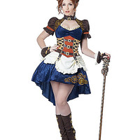 Plus Size Steampunk Fantasy Adult Womens Costume - Spirithalloween.com