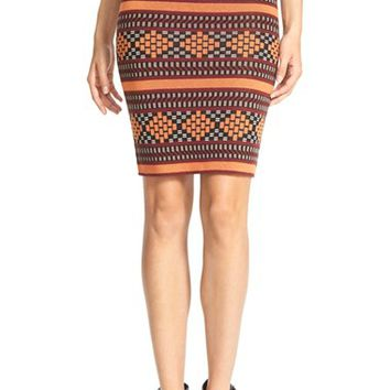 Women's Plenty by Tracy Reese 'Folklorics' Knit Pencil Skirt,