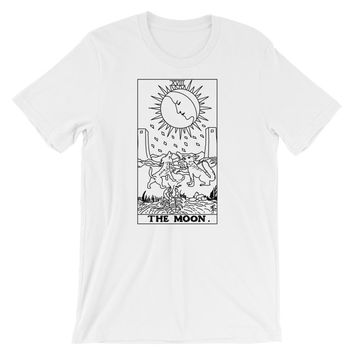 The Moon Tarot T-Shirt White